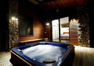 water tub lighting